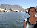 PKap på väg mot Robben Island