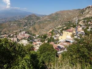 Etna sett från Taormina